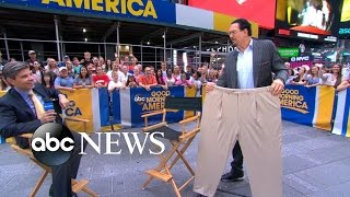 Penn Jillette Opens Up About 100-Pound Weight Loss