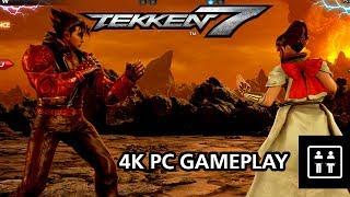 Tekken 7 PC Arcade Mode Running At 4K Max Settings