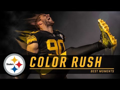 hot sales e6e1d 494fb Best Moments from Color Rush   Pittsburgh Steelers