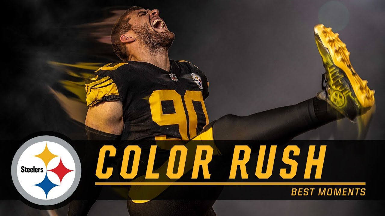 Nice Best Moments from Color Rush | Pittsburgh Steelers YouTube  for sale