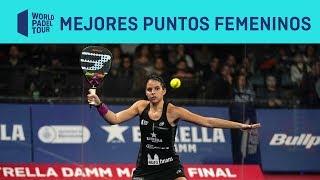 Los 3 Mejores Puntos Femeninos del Estrella Damm Master Final | World Padel Tour