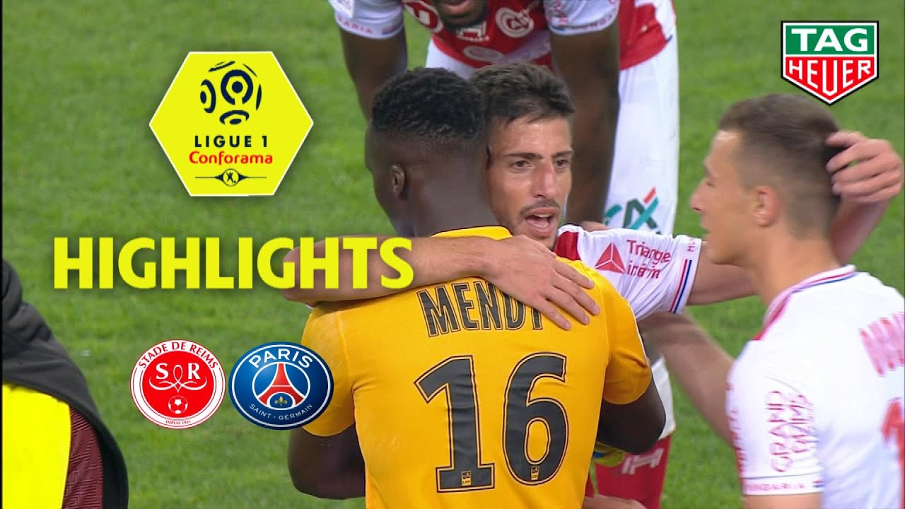 Stade de Reims - Paris Saint-Germain ( 3-1 ) - Highlights - (REIMS - PARIS) / 2018-19