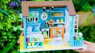 DIY Miniature, DIY Dollhouse Room, Best DIY Sweet Home, DIY Bedroom, 10 Minute DIY Doll Crafts