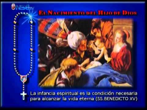 Rezo del Santo Rosario Misterios Gozosos