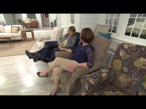 La-Z-Boy Raleigh High Leg Recliner w/ Memory Foam with Jill Bauer