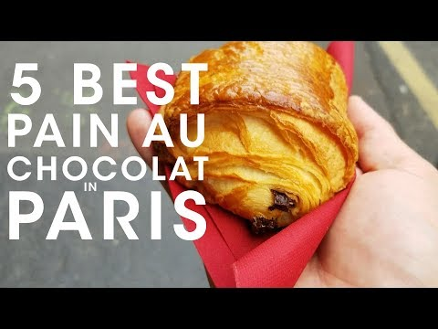 5 Best Pain au Chocolat in Paris - Best Chocolate Croissants in Paris (Pain au Chocolat)