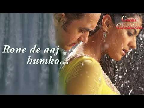 """Fanaa Movie Best Dialogues By Aamir Khan ''Rone De Aaj Humko Tu Aankhe Sujane De"""""""
