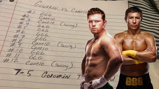 THE RELAY: Canelo vs GGG 2 Score cards, How mines compared with the judges. Who got it right?