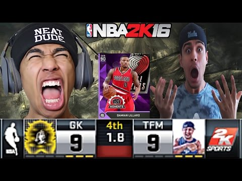 WTF GAME WINNER!!! INSANE HALF COURT SHOTS ONLY CHALLENGE VS LSK- NBA 2K16 MYTEAM WAGER GAMEPLAY #20