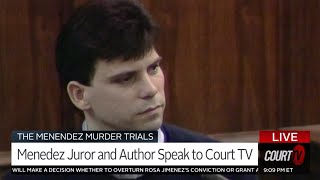 Menendez Brothers' Juror Speaks Out, What you didn't see at the trial | COURT TV