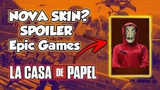 FORTNITE-NEW SKIN LA HOUSE OF PAPER SPOILER FROM EPIC GAMES