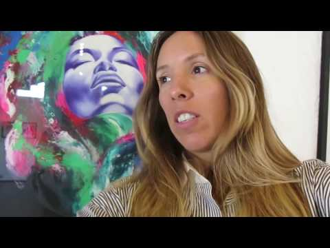 VLOG Jessica Waters Gordon Art Exhibition Guatemala