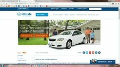 Auto Insurance and Car Insurance Quotes—Allstate
