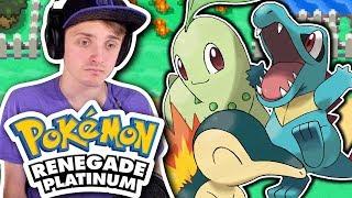 JOHTO STARTER GIFT POKEMON!   Pokémon RENEGADE Platinum Let's Play! #8