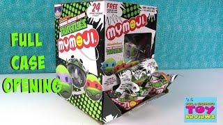 TMNT Funko MyMoji Blind Bags Full Case Opening Teenage Mutant Ninja Turtles | PSToyReviews