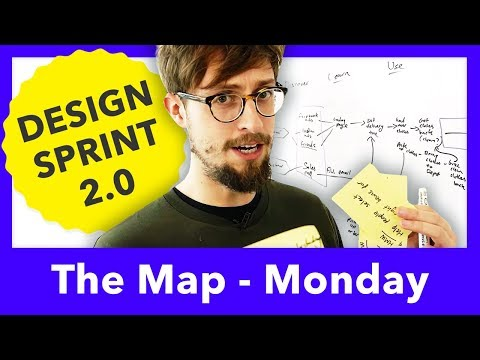 DESIGN SPRINT 2.0 MAP - MONDAY - AJ&Smart