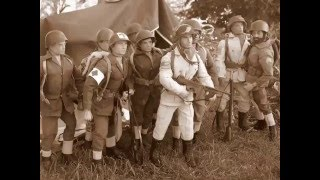 Action Joe 82nd Airborne D-Day 1944 US paratroops