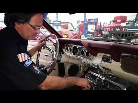 More Radio And Dash Speaker Installation - Harvey's 1966 Mustang Convertible Day 76 Part 3