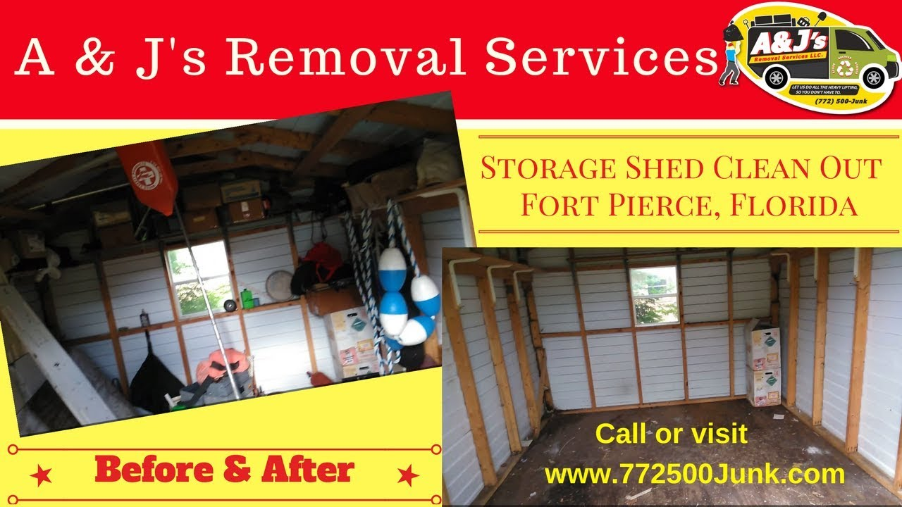 Storage Shed Clean Out   Fort Pierce, Florida