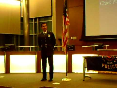 Special Recognition of Commerce City Police Chief ...