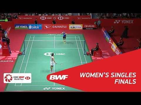 WS | TAI Tzu Ying (TPE) [1] vs Saina NEHWAL (IND) | BWF 2018
