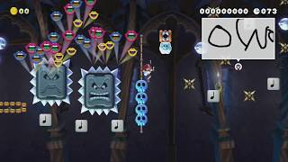 Ghost room -full auto- by sara - Super Mario Maker 2 - No Commentary
