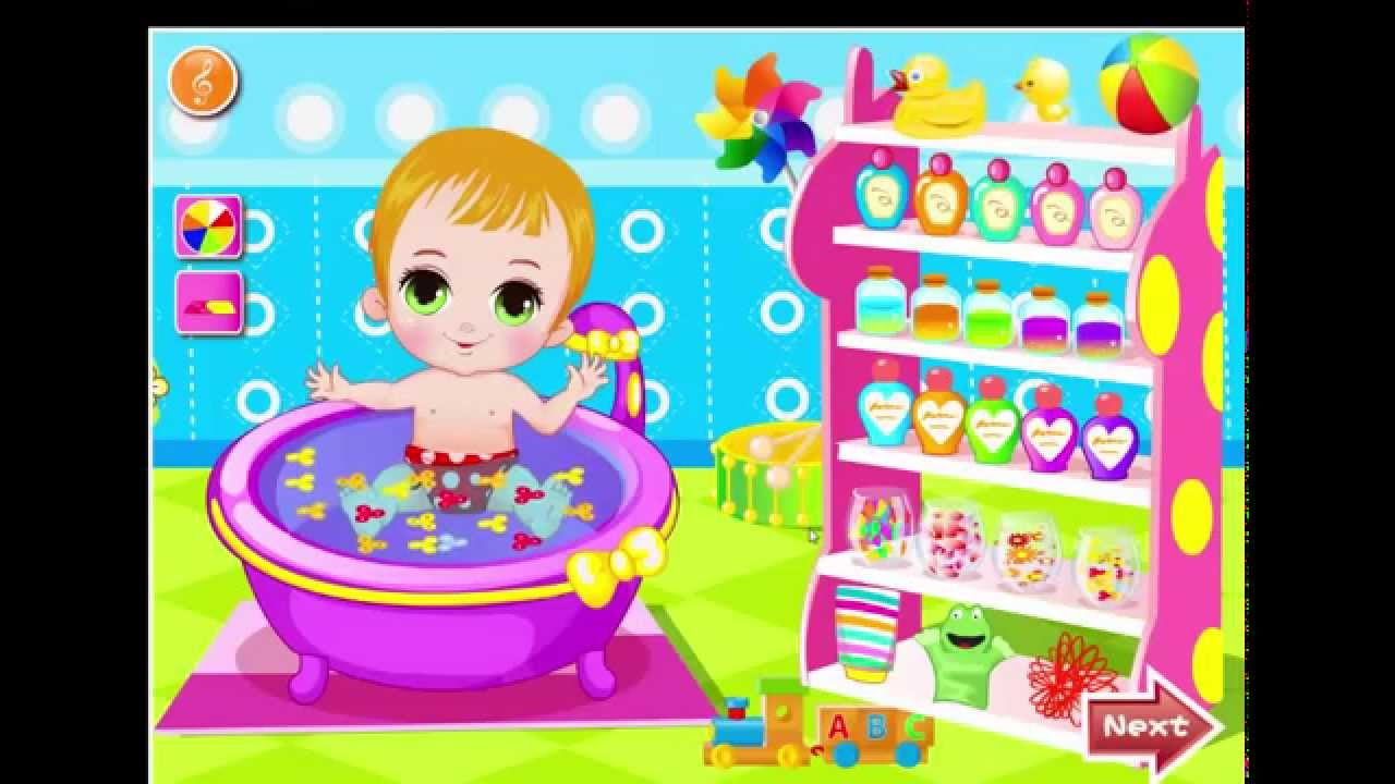 bathing games for kids baby dress up to play baby bathing for 10424