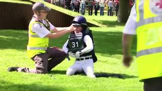 Burghley Horse trials 2017 - Best falls and refusals