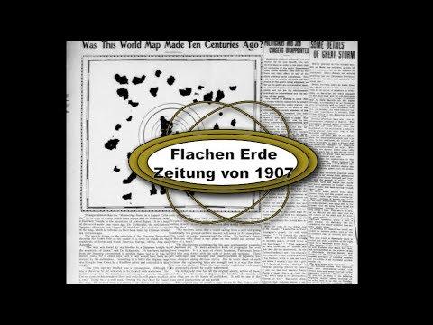 Flache erde: Das Jahr 1907 : Flachen Erde in Zeitung von 1907 Neu 2017