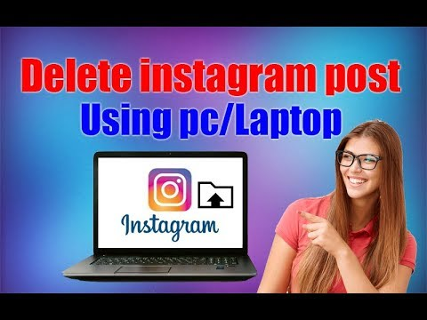 How to delete my comment on instagram on pc