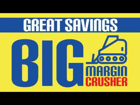 BIG MARGIN CRUSHER AT K M TRADING -OUD METHA DUBAI AND K M HYPERMARKET -OPP  EDS -MUSSAFAH
