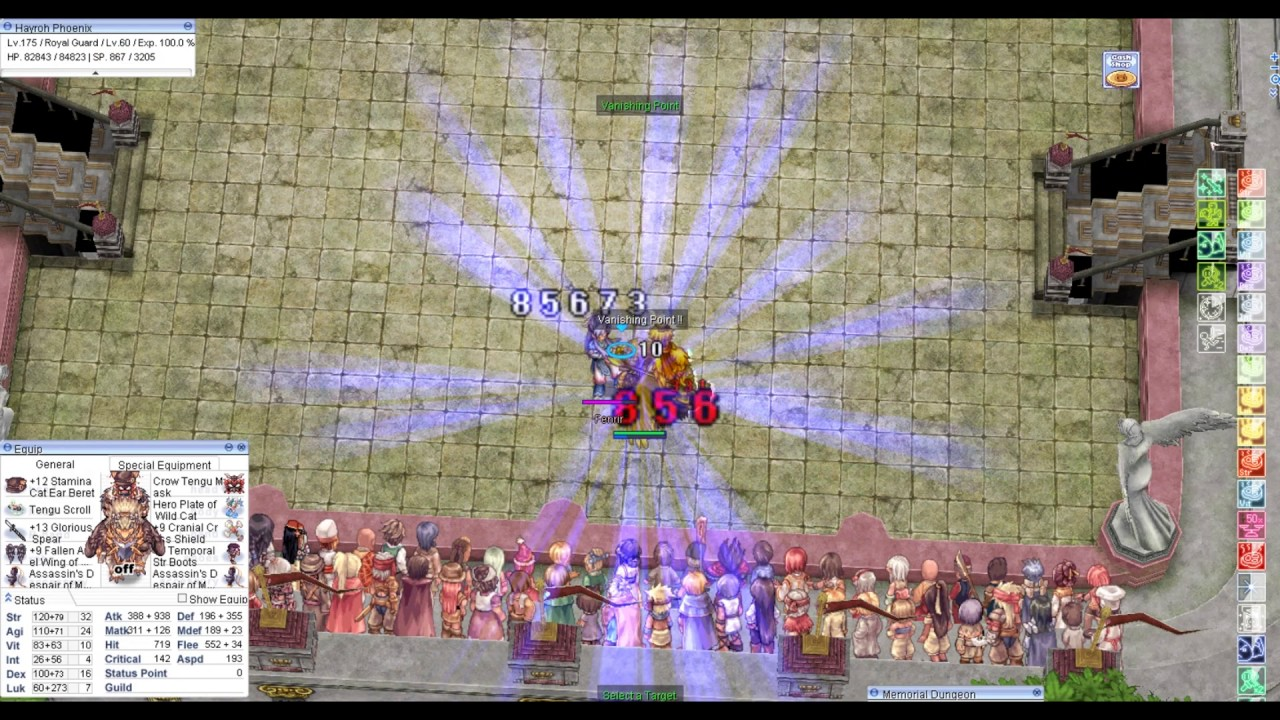 Hayroh's Paladin~Royal Guard [ft  Crit-EB & V  Point/S  Cannon