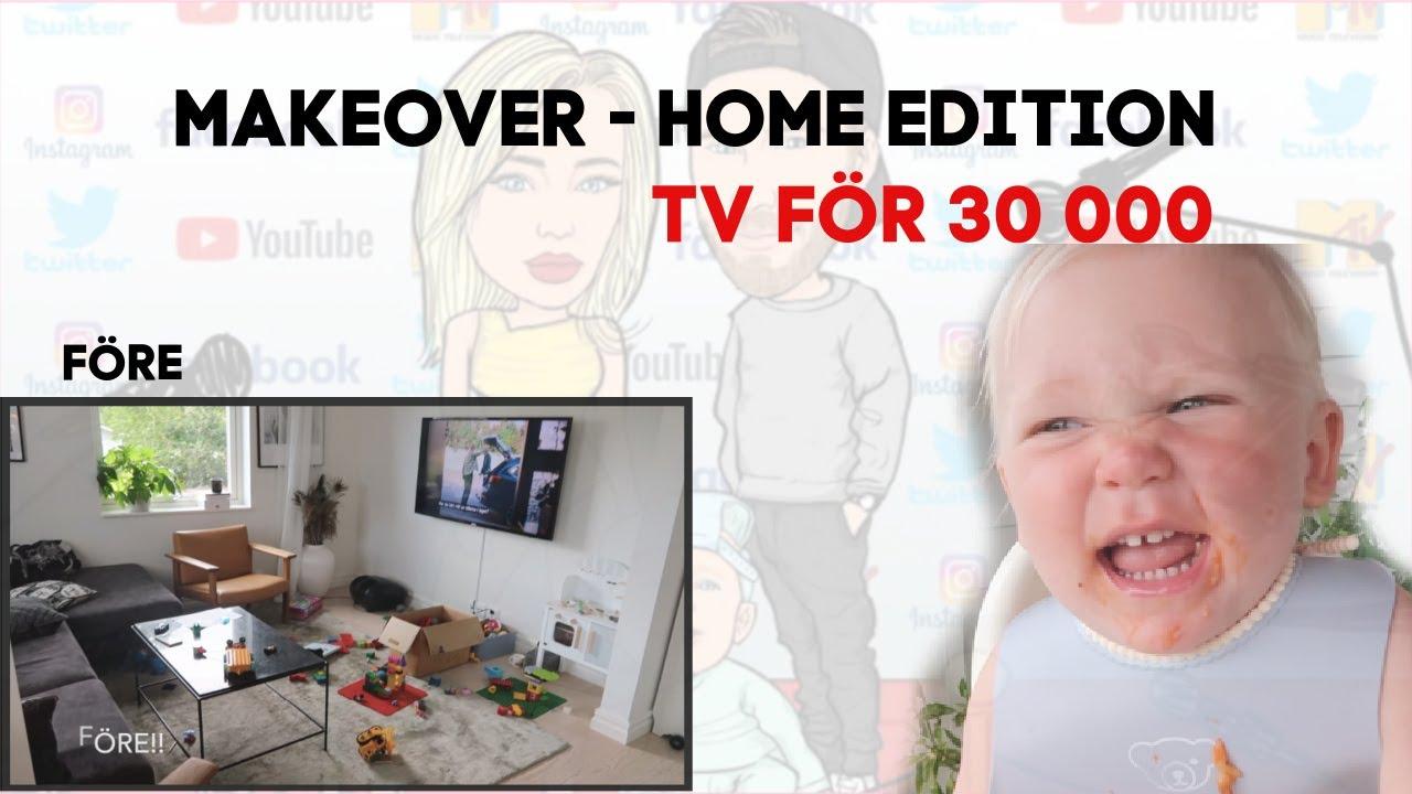 Vlogg - Vardagsrum MAKEOVER och DIY