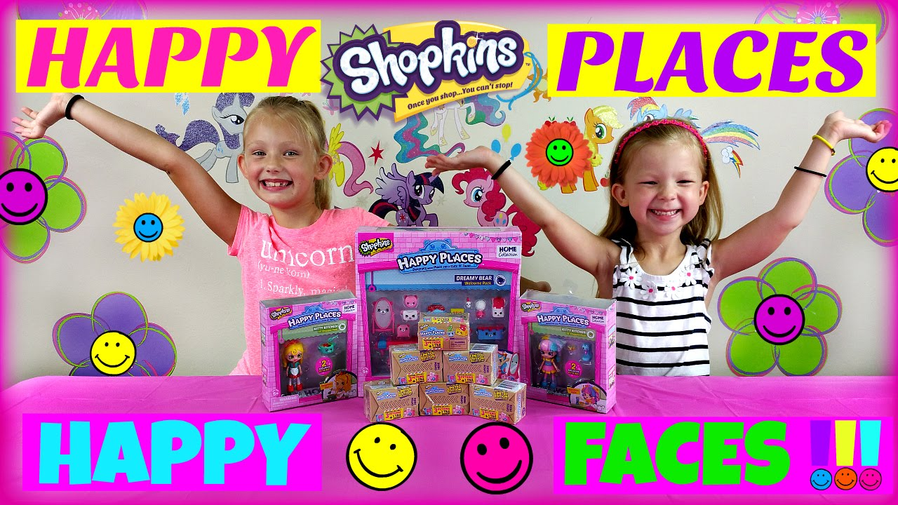 """Download HAPPY PLACES 6 Shopkins Blind Boxes NEW Shopkins Happy Places """"Dreamy Bear""""Jessicake Shoppies"""