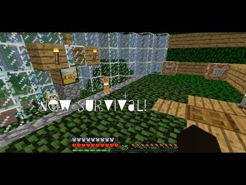 "Minecraft: my awesome ""new survival"" world w/ download! Youtube."