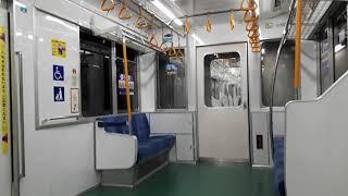 なんとなく電車:東京メトロ南阿佐ヶ谷駅:丸ノ内線池袋行き到着発車車内&荻窪行き新型車両000系発車光景20210724_164342