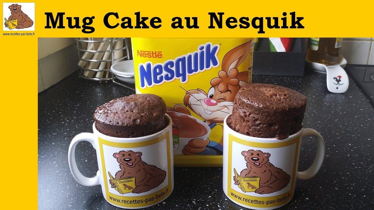 Le mug cake au nesquik recette rapide et facile youtube for Mug isotherme micro onde