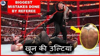 Huge Mistakes Done in Roman vs Braun Match | Star Injured Inside Hell in a Cell 2018
