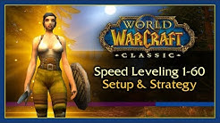 Classic WoW: General Speedleveling Guide 1-60