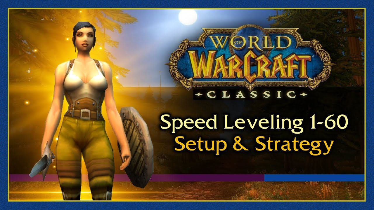 Grind out those levels fast with our World of Warcraft Classic leveling guide