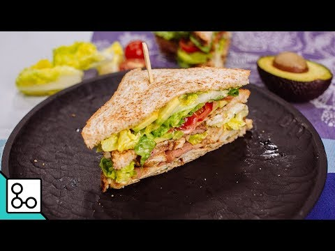 Club sandwich poulet bacon - Youcook