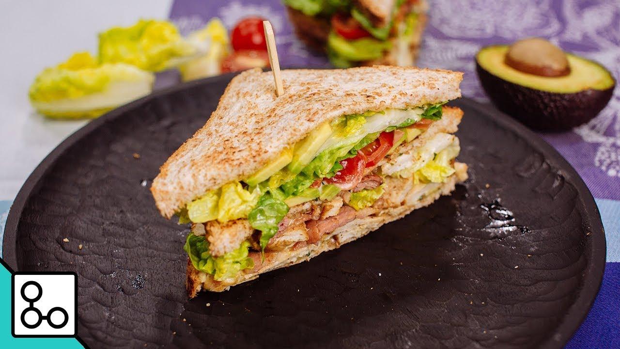 Club sandwich poulet bacon - Youcook