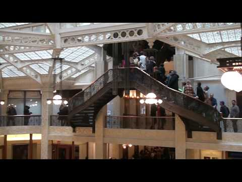 The Rookery Chicago, By Burnham & Root W/ Frank Lloyd Wright Part 2