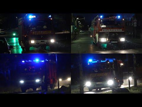 [Neues LF20 KatS] Einsatzfahrten zu Dachstuhlbrand in Stolberg
