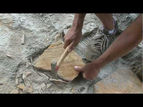Granite Dust Flagstone Patio