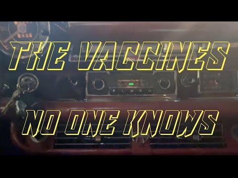 The Vaccines - No One Knows (Cosy Karaoke)