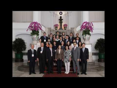 2019年5月強友會國內參訪總統接見