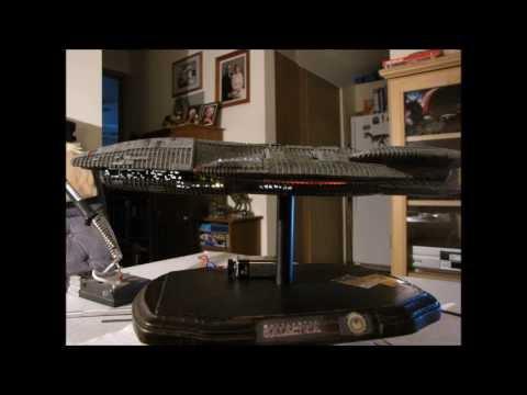 Battlestar Galactica ship