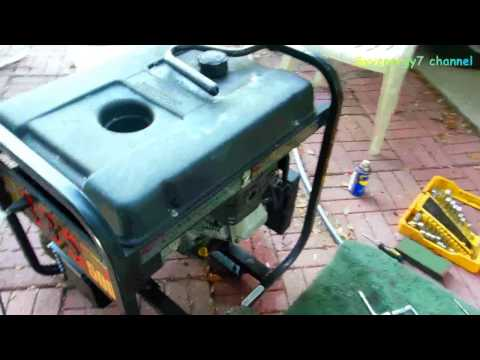 Portable Gas Generator - Bad Gas, Carb Cleanup