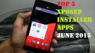 Top 5 Xposed modules - June 2015